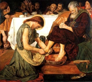 Jesus Washing the Feet of the Apostles at the Last SupperPainting: Ford Maddox Brown